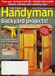 buy the family handyman best backyard projects magazine 2013 in