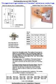 Cabinet Hinge Overlay Blum 110 Degree Hinge For Overlay Frameless Cabinets