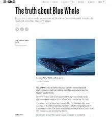 si e social air blue whale il gioco suicidio è una bufala il mattino