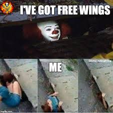 Chicken Wing Meme - lord of the wings or how i learned to stop worrying and love the