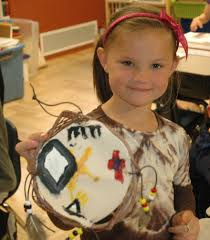kids can make their own shield native american kids crafts deluxe