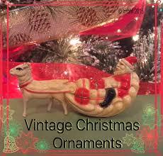 vintage ornaments my big happy family