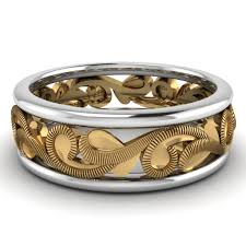 latest trends on gold rings for mens classy males