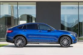lowered mercedes mercedes benz glc coupe to rival bmw x4