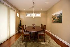 Faux Leather Paint - dining room with faux leather texture paint