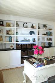 Built In Desk Cabinets Built In Bookshelf Builtin Bookcase And Room Divider Country