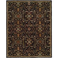 Area Rugs Barrie Chandran Tufted Black Area Rug