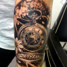 100 unique watch tattoos
