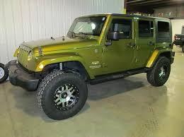 2007 green jeep wrangler 2007 jeep wrangler unlimited 4x4 4dr suv in albert lea mn