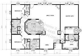 Five Bedroom House Plans by Fine Double Wide Floor Plans 5 Bedroom Family Home Throughout Design
