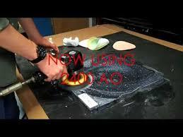 Corian Sanding Pads Polishing Solid Surface Corian Work Top With Micro Mesh Youtube