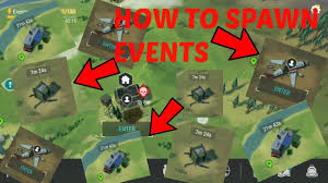 how to summon events air drop plane crash trader last day on