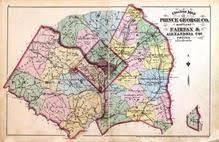 maryland map by county outline outline map prince george county maryland fairfax and