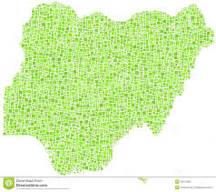 map of nigeria africa map of nigeria africa royalty free stock images image 26057699