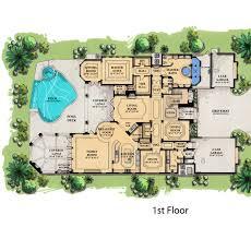 mediterranean mansion floor plans florida home designs floor plans crafty home design ideas