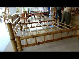 how to make a bed table monpi bamboo bed youtube