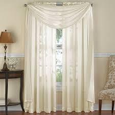 Sheer Scarf Valance Window Treatments Buy Sheer Window Scarf From Bed Bath U0026 Beyond