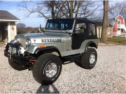 renegade jeep cj7 classic jeep renegade for sale on classiccars com