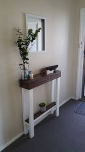 Corner Tables For Hallway Build A Simple Console Table Or End Table For 10 Using