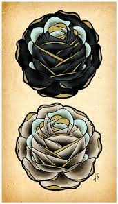 black and white rose tattoo designs best tattoo designs white