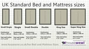 bed measurements bed sizes mattress sizes uk mattress sizes