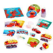 elmo birthday elmo birthday party supplies pack for 8 walmart