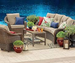 Outdoor Patio Furniture Sets by Patio Fascinating Outdoor Patio Furniture Sets Black And Cream