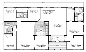Game Room Floor Plans The Gotham Vr41764b Manufactured Home Floor Plan Or Modular Floor