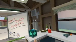 rick and morty vr game lets you get schwifty with zany items in