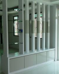 remadecons kitchen cabinet partition with wooden screening