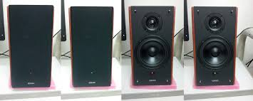 led tv with home theater system edifier r1900tv speaker unboxing and review ayumilove