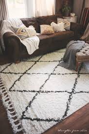 Rugs Ysa Boho Chic Living Room Makeover Finding The Perfect Rug