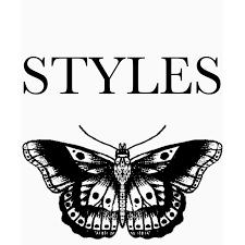harry styles butterfly prints by heavenlymalik redbubble