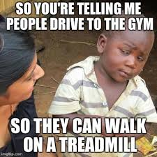 Gym Rats Meme - the portrayal of female gym rats looking in the popular culture mirror