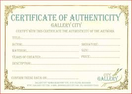 best of artist certificate of authenticity template excuse letter