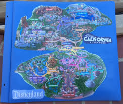 map of california adventure a way to recycle park maps mousescrappers com
