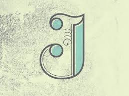 126 best the letter j images on pinterest calligraphy design