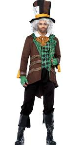 men u0027s classic mad hatter costume mad hatter fancy dress costume