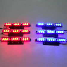 red and white led emergency lights white wholesale 54 led car truck boat flash strobe snowy raining
