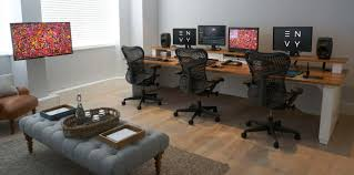Producer Studio Desk by Aka Design Edit Desks Graphics Desks Including On Line And Off