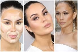 Makeup Contour jlo inspired contouring glowy neutral makeup tutorial