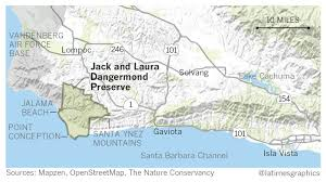 Solvang Map Couple Donates 165 Million To Preserve 24 000 Acres At Point