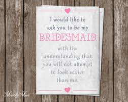 asking bridesmaids poems bridesmaid poems wedding ideas