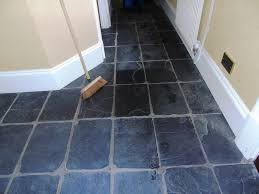 renovating slate hallway floor tiles in gloucester stone