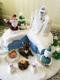 Christmas Cake Decorations Rudolph by 1983 Best Christmas Cakes Images On Pinterest Christmas Cakes