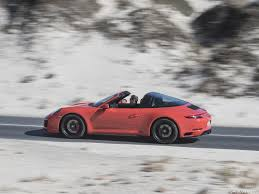 orange porsche 911 convertible 2018 porsche 911 targa 4 gts color lava orange side hd