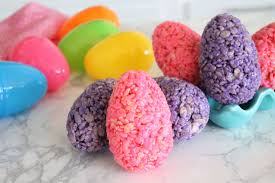 how to make easter eggs how to make rice krispies treat easter eggs