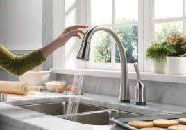 addison kitchen faucet appealing delta addison kitchen faucet 9192t sssd dst touch