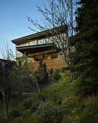 hillside homes aeccafe hillside modern in seattle wa by deforest architects
