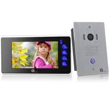 Front Door Monitor Camera by 1byone Video Doorbell Intercom System Review Youtube